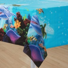 Ocean Party Table Cover