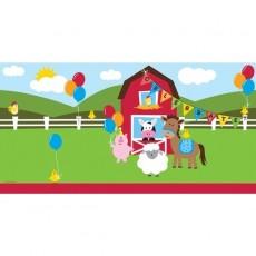 Farmhouse Fun Party Supplies - Table Cover