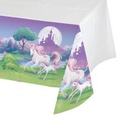 Unicorn Fantasy Plastic Table Cover