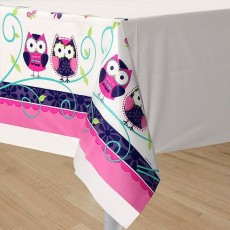 Owl Pal Plastic Table Cover