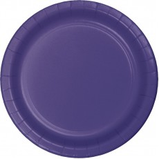 Purple Paper Lunch Plates