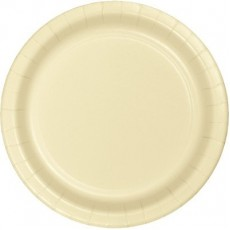 Ivory Party Supplies - Lunch Plates