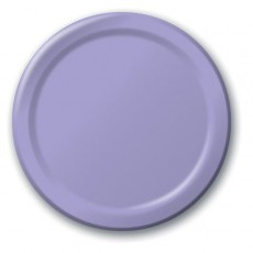 Lavender Party Supplies - Lunch Plates