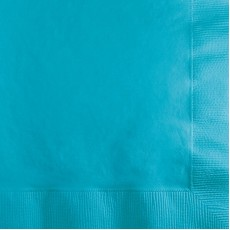 Blue Bermuda  Beverage Napkins