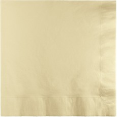 Ivory Party Supplies - Beverage Napkins