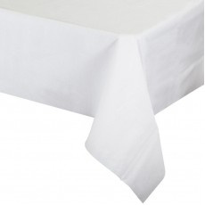 White Better Than Linen  Airlaid Paper Table Cover