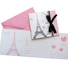 Party in Paris Invitations