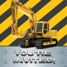 Under Construction Construction Zone Invitations