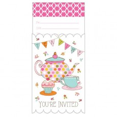 Tea Time Invitations