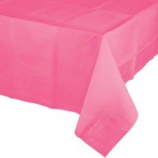 Pink Candy Celebrations Plastic Table Cover