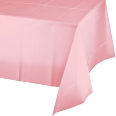 Pink Classic Celebrations Plastic Table Cover