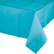 Blue Bermuda Celebrations Plastic Table Cover