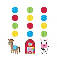 Farmhouse Fun String Cutouts Hanging Decorations
