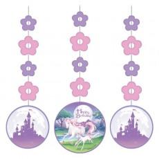 Unicorn Fantasy Cutouts Hanging Decorations