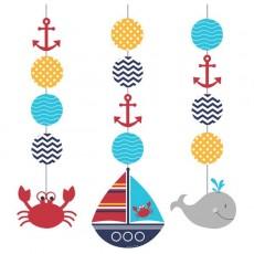 Ahoy Matey String Hanging Decorations