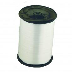 White Curling Ribbon 500m x 5mm