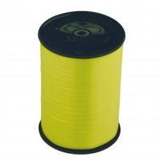 Lemon Yellow Balloon Ribbon 500m x 5mm