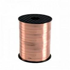Rose Gold Pink Metallic Curling Ribbon 225m