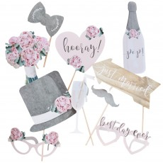 Wedding Rustic Country Photo Props Pack of 10