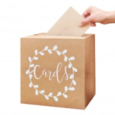 Wedding Party Supplies - Rustic Country Card Holder Box