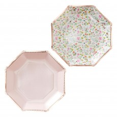 Ditsy Floral Dinner Plates 23cm Pack of 8