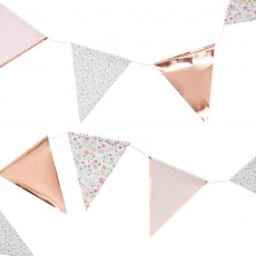 Ditsy Floral Bunting Banner