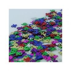16th Birthday Multi Coloured Scatters Confetti