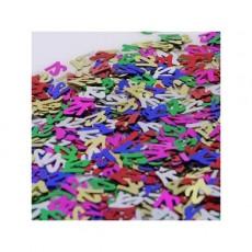 21st Birthday Multi Coloured Scatters Confetti