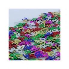 30th Birthday Multi Coloured Scatters Confetti