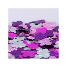 Multi Colour ed Butterflies Embossed Scatter Confetti
