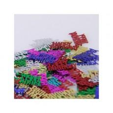 Happy Birthday Multi Coloured  Confetti
