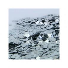 Silver Heart Scatter Confetti