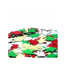 Christmas Multi Coloured Santa Scatters Confetti