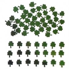 St Patrick's day Green Shamrock Scatters Confetti