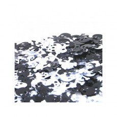 Pirate's Treasure Black & Silver Scatters Confetti