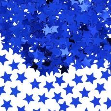Blue Star Scatters Confetti