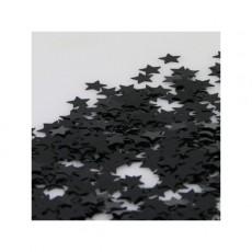 Black Star Scatters Confetti