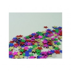 Multi Colour Star Scatter Confetti