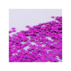 Magenta Hot Pink Scatters Confetti