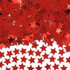 Red Stars Scatters Confetti
