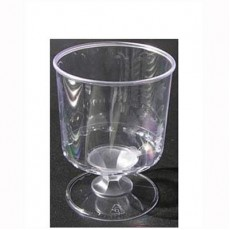 Clear Wine Tasters Plastic Cups