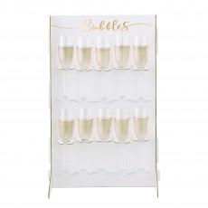 Wedding Party Supplies - Gold Wedding Prosecco Wall
