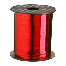 Red Metallic  Curling Ribbon