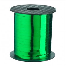 Green Metallic Emerald  Curling Ribbon