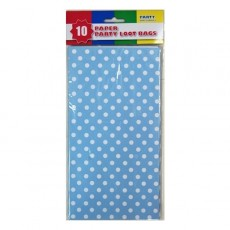 Dots & Stripes Light Blue Polka Dots Favour Bags