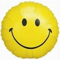 Emoji Smiley Face Foil Balloon