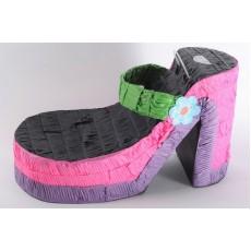 Happy Birthday Heel Shoe Pinata 45cm x 26cm x 26cm