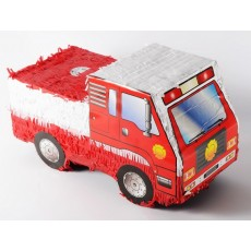 Firefighter Party Supplies - Pinata Fire Engine ii