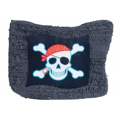 Pirate's Treasure Pirate Flag Pinata 49cm x 35cm