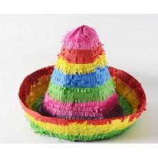 Mexican Fiesta Sombrero Pinatas 30cm x 40cm x 40cm